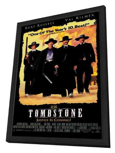 Tombstone - 11 x 17 Framed Movie Poster