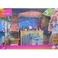 Barbie Cali Girl PARTIDO DE VACACIONES HAWAIANO Conjunto de juegos con 3 actividades y ¡MÁS! (2005)