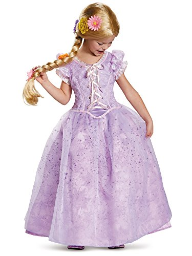 Rapunzel Ultra Prestige Disney Princess Tangled Costume, Medium/7-8 -