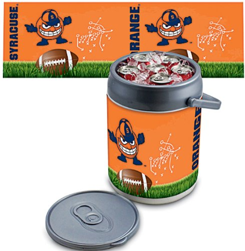 NCAA Syracuse Orange Football Otto Digital Print Can Cooler, One Size, Silver/Gray by PICNIC TIME