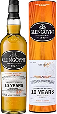 Glengoyne - Highland Single Malt 10 year old: Amazon.es: Alimentación y bebidas