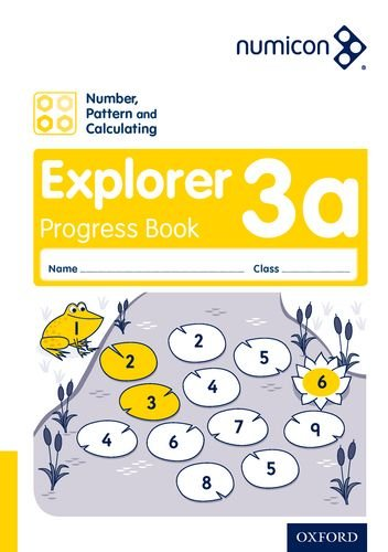 Numicon: Number, Pattern and Calculating 3 Explorer Progress Book A (Pack of 30) pdf