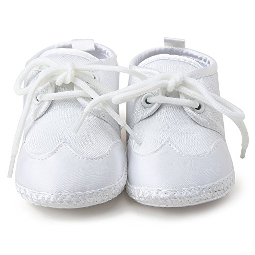 Pictures of OOSAKU Boys White Lace Up Christening Baptism 3