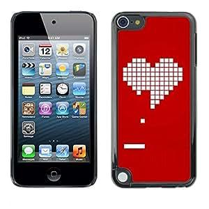 """Apple iPod Touch 5 , JackGot - Impreso colorido protector duro espalda Funda piel de Shell (Pc juego de los videojuegos de la novia del amor de San Valentín"""")"""