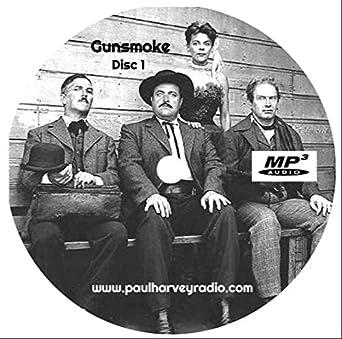 Amazon com: Gunsmoke Old Time Radio Mp3 5-cd's (497-episodes