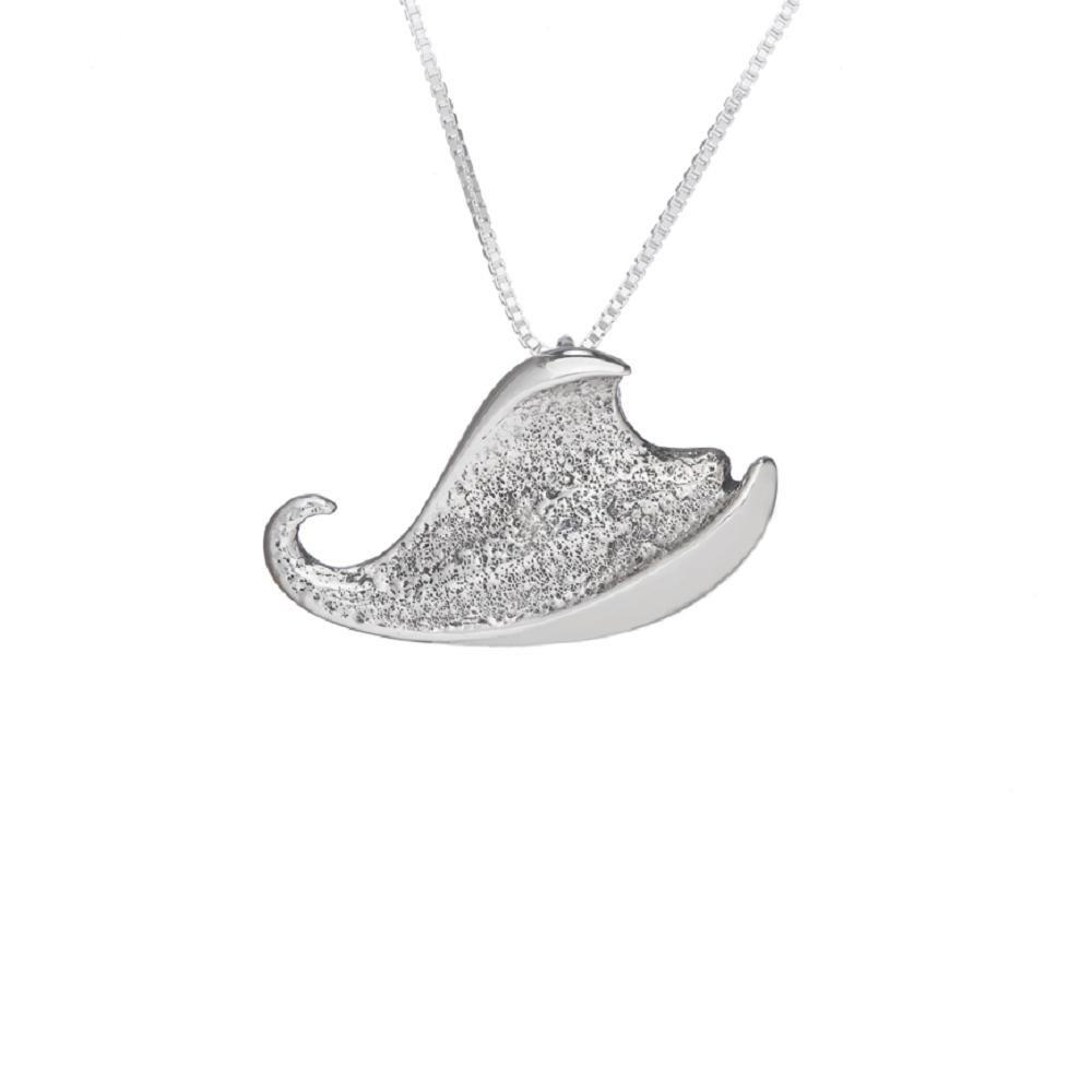 SURANO DESIGN JEWELRY Sterling Silver Sea Creature Slide Pendant Made in USA 18 Italian Box Chain