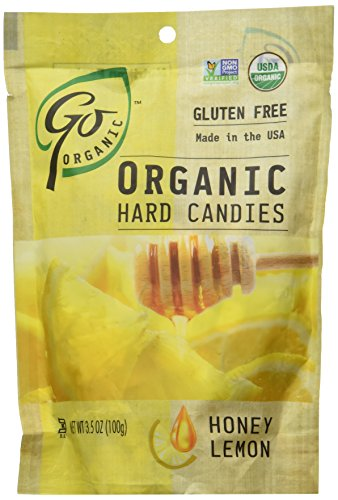 Go Naturally, Candy Honey Lemon Org, 3.5-Ounce