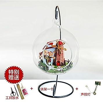 Pädagogische Spielwaren Diy House Modell Thanksgiving Halloween