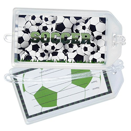 Soccer Luggage Tag - 7