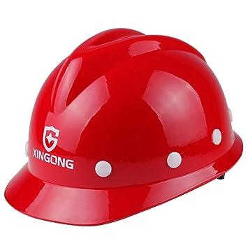 LYQZ Casco de Seguridad Construcción de Obra Construcción de ...
