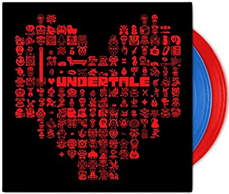 Undertale Soundtrack Limited Edition Red And Blue Colored Vinyl Amazon Com Music