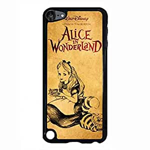 Cartoon Cute Alice In Wonderland Durable Phone funda For iPod Touch 5th Back Cover