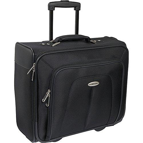 Samsonite Sideloader Mobile Office (Black) (Ballistic Rolling Case Samsonite Notebook)