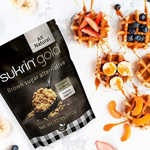 Sukrin Gold - The Natural Brown Sugar Alternative - 1.1 lb Bag by Sukrin (Image #6)