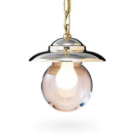 Foresti & Suardi - Lámpara de techo (latón pulido con cadena ...