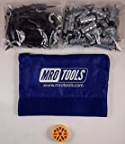 25 5/32 & 25 3/32 Standard Wing-Nut Cleco Fastener w HBHT Tool & Bag (KWN4S50-6)