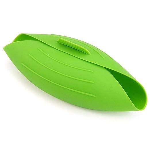 Heaviesk Flexible Horno de microondas Vaporera Universal de Pasta ...