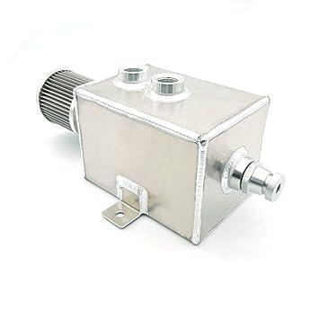 heinmo Motor de alto volumen de 3l depósito de aceite Catch Can con del respiradero y