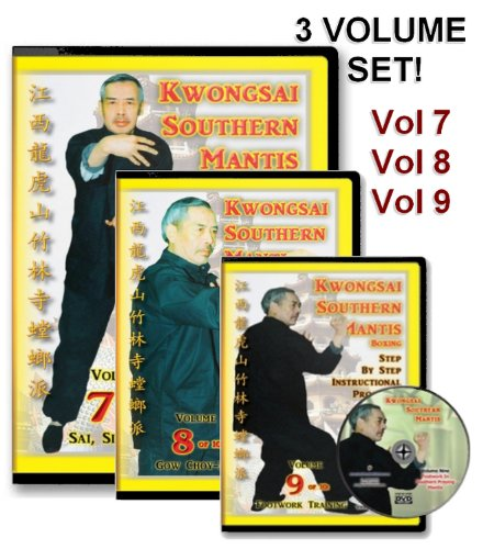 Southern Praying Mantis Kung Fu DVD Set: Volumes Seven, Eight, Nine