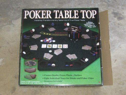 Merveilleux Amazon.com : Deluxe Poker 4 Fold Table Top : Poker Table Tops Cardinal :  Sports U0026 Outdoors