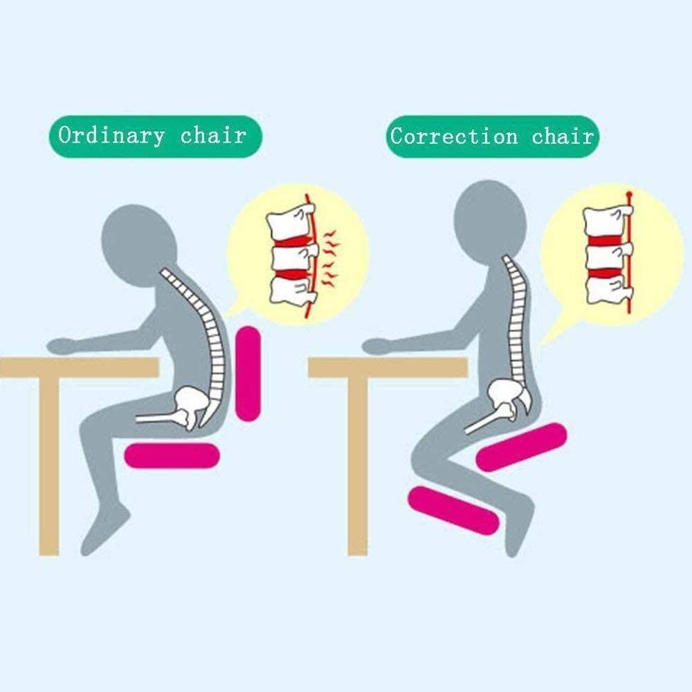 Skrivbordsbord funktioner knäpall flexure stol krage stressavlastare datorstol student lärande stol knästol (färg: 2) 2