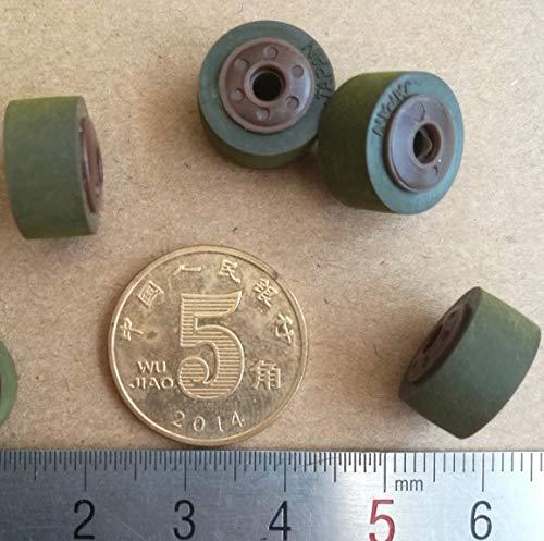 Fevas 4Pieces/Lot 13mm8.32.5mm Recorder Amplifiers Pinch Roller JVC Pressure Belt Wheel Recording Card Holder Audio Wheel