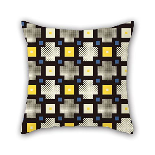 [NICEPLW 16 X 16 Inches / 40 By 40 Cm Geometry Pillow Covers,twice Sides Is Fit For Club,car Seat,wife,lounge,bar Seat,living] (R2d2 Costume Pattern)