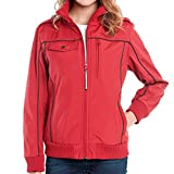 Baubax Travel Jacket - Bomber - Female - Red - Small