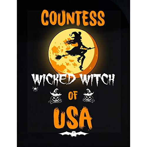 (Inked Creatively Countess Wicked Witch of USA Sticker)