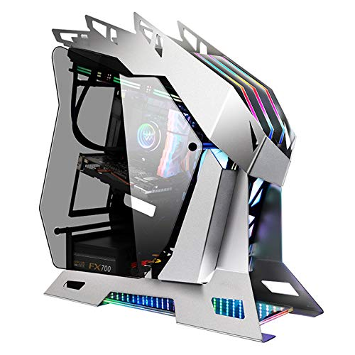 XIONGSHI 360 Water-Cooled Gaming case Desktop dustproof and Silent Water-Cooled case Special-Shaped ATX Cool case