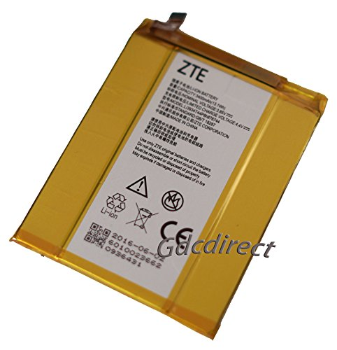 Replacement Li3934T44P8h876744 Internal Battery For ZTE Grand X MAX 2 Z988 ZMAX PRO Z981 by GDC Direct Inc