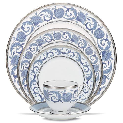 Noritake 5-Piece Place Dinnerware Setting in Blue/White