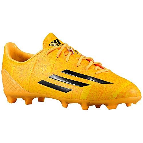 Adidas F50 Adizero Junior Lionel Messi Fotboll Knap (sol Guld) Sz. 5,5