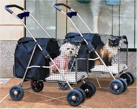 Kittywalk 5th Avenue Pet Stroller Blue by Kittywalk Systems, Inc.