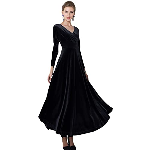 Stretch Velvet Dress Amazon