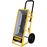 Portable Radiant Heater, 12 Hour Run Time, 20 Lb Propane Tank, Heavy Duty Frame.