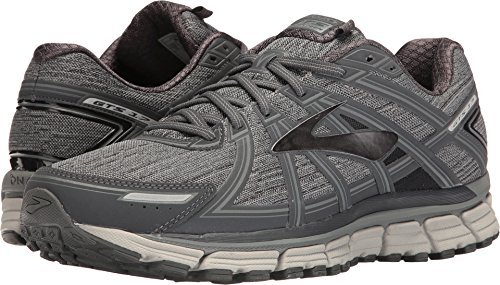 6cadd7b33a Galleon - Brooks Mens Adrenaline GTS 17 Heather/Anthracite/Primer Grey  Nylon Running Shoes 12.5 M US