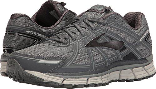 c4cb6e490f651 Galleon - Brooks Mens Adrenaline GTS 17 Heather Anthracite Primer Grey  Nylon Running Shoes 12.5 M US
