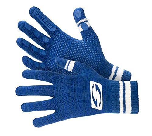 Feldspielerhandschuhe »sallerBASE«, blau-weiß