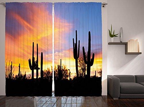 Western Decor Sunny Desert Cactus Picture Art Prints Wild