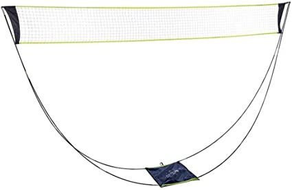 Amazon Com Portable Removable Badminton Net With Stand Carrying Bag Volleyball Net For Outdoor Indoor Beach Sport Sports Outdoors