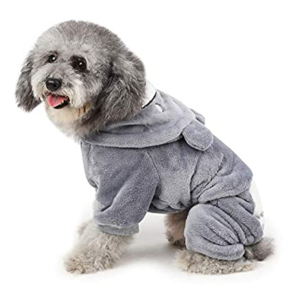 PETCUTE Abrigo Bulldog Frances Abrigo para Perro Saltador de Perro Abrigos Galgos/Pitbull/Yorkshire