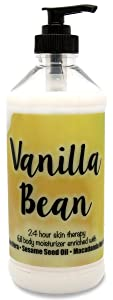 The Lotion Company 24 Hour Skin Therapy Lotion, Vanilla Bean, 16 Ounce