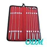 ODM 9 Pcs Bakes Rosebud Uterine Urethral Dilator with a Carrying Case