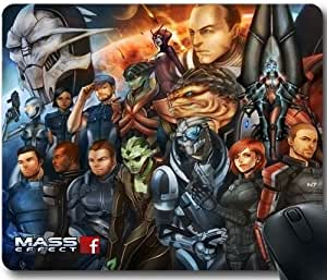Premium Quality Rubber Mouse Pad Mass Effect-9 Custom Your Own Personalized Mousepad JDFJsdj739528