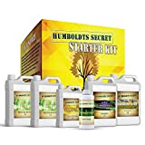 Humboldts Secret Starter Kit is now available! This Starter Kit includes Humboldts Secret Base A and Base B and our signature GOLDEN TREE. Plus, it also includes our FLOWER STACKER, PLANT ENZYMES and CALMAG & Iron.