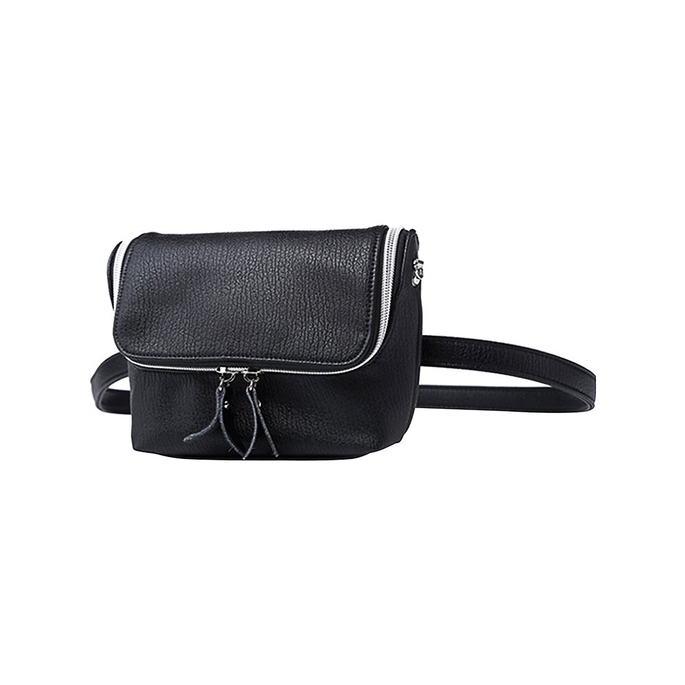 Kukoo Women Fanny Pack Waist Bag Leather Travel Pouch Ladies Crossbody Bag