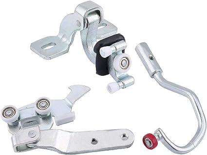 gototop Kit de 3 pcs guiado de rollos de Metal para puerta corredera de coche: Amazon.es: Coche y moto