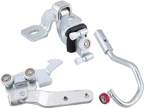 Puerta Corredera montar, Auto Puerta Corredera rollo führungs Juego para Fiat Ducato 2006 – 2012 1336737080 1336735080 Plata: Amazon.es: Bricolaje y herramientas