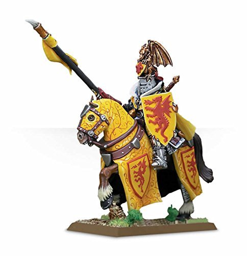 Bretonnian Lord with Lance and Horse age of Sigmar Warhammerゲームワークショップ
